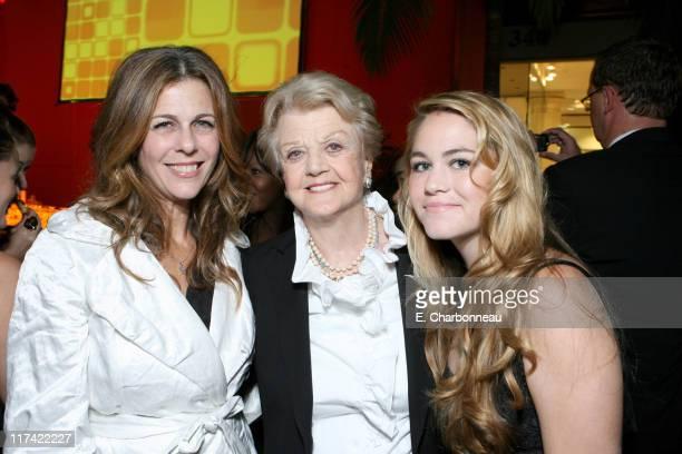 Rita Wilson Angela Lansbury and Katherine Shaw *EXCLUSIVE*