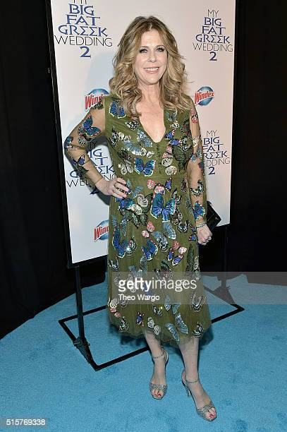 Rita Wilson attends 'My Big Fat Greek Wedding 2' New York Premiere at AMC Loews Lincoln Square 13 theater on March 15 2016 in New York City