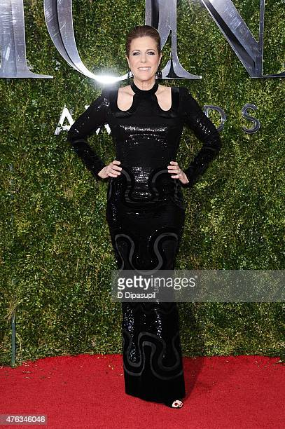 Rita Wilson attends the American Theatre Wing's 69th Annual Tony Awards at Radio City Music Hall on June 7 2015 in New York City