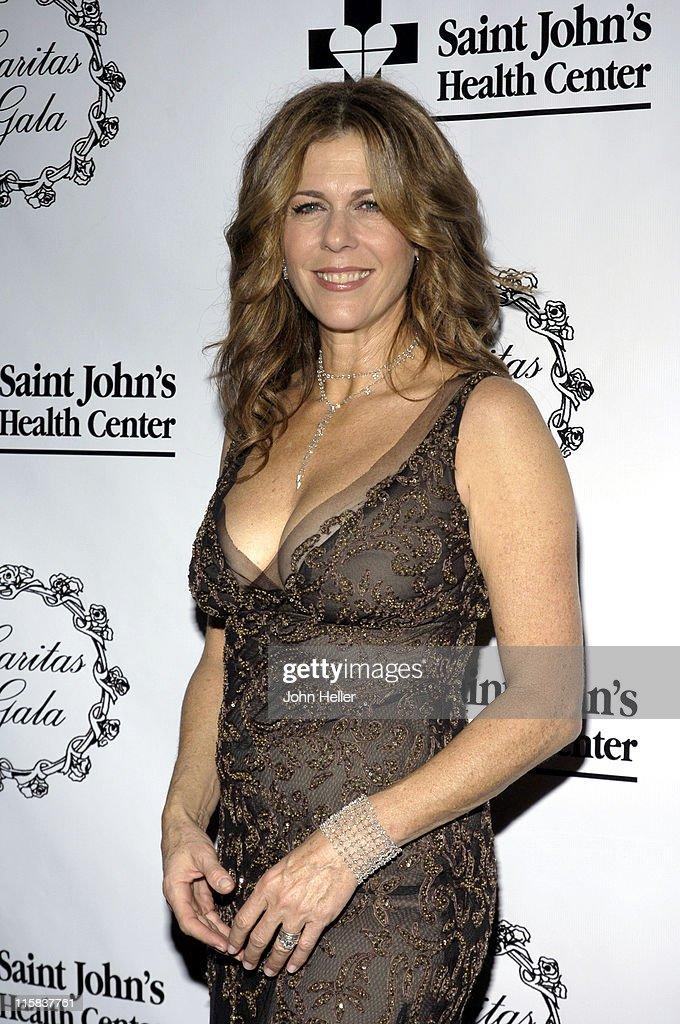Rita Wilson during Saint John's Health Center Caritas Gala in Los Angeles California United States