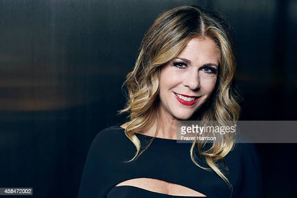 Rita Wilson poses for a portrait at the amfAR LA Inspiration Gala on October 29 2014 in Los Angeles California