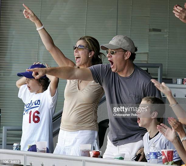 Rita Wilson Tom Hanks and children Truman Theodore left and Chester Marlon right *EXCLUSIVE*