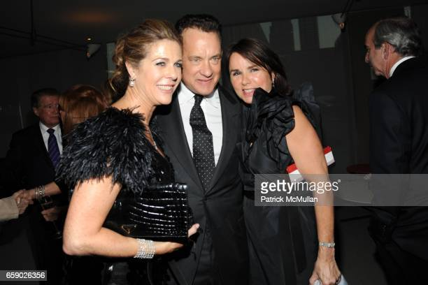 Rita Wilson Tom Hanks and Patty Smyth attend THE FILM SOCIETY OF LINCOLN CENTER Gala Tribute to honor TOM HANKS at Alice Tully Hall on April 27 2009...