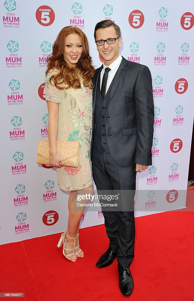 Ritchie Neville and Natasha Hamilton attend the Tesco Mum of the Year awards at The Savoy Hotel on March 23, 2014 in London, England.