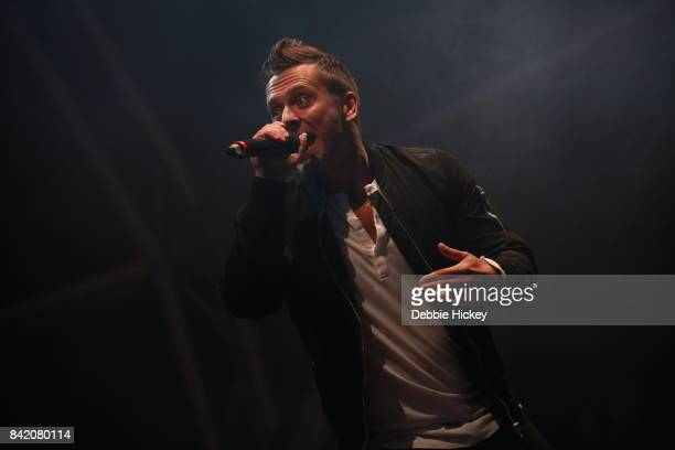 02 Ritchie Neville from Boyband Five performs at The Throwback Stage at Electric Picnic Festival at Stradbally Hall Estate on September 2 2017 in...