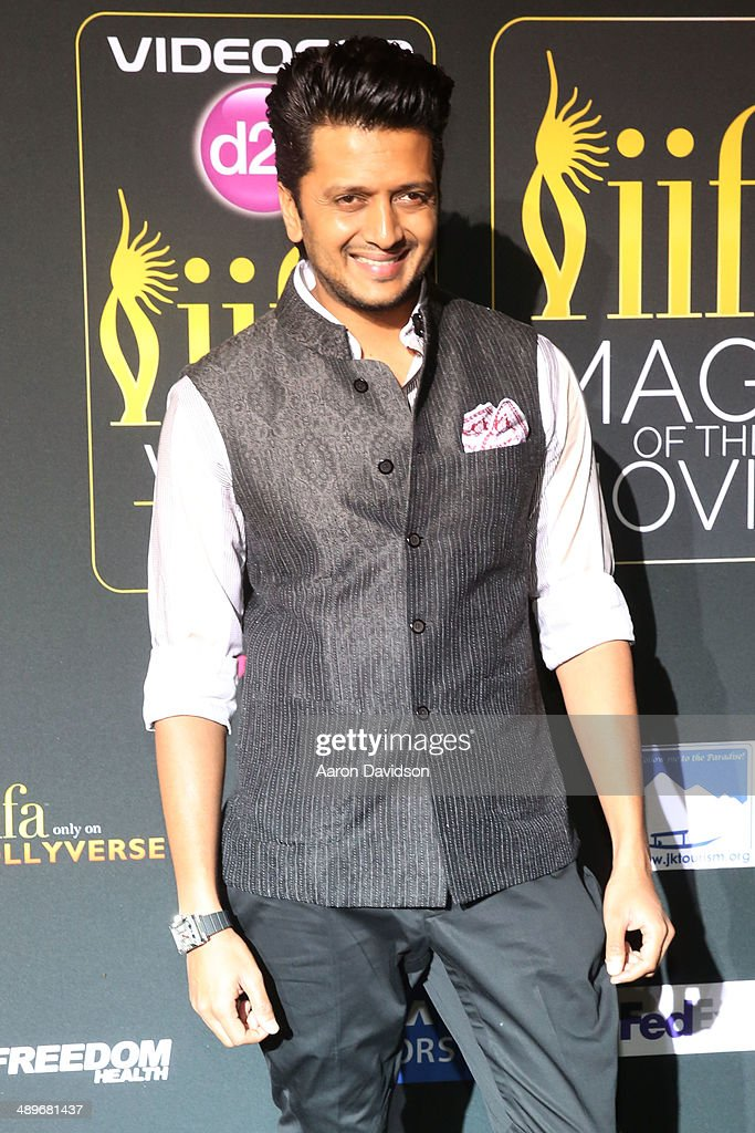 Riteish Deshmukh arrives to the IIFA Magic of the Movies at MIDFLORIDA Credit Union Amphitheatre on April 25, 2014 in Tampa, Florida.