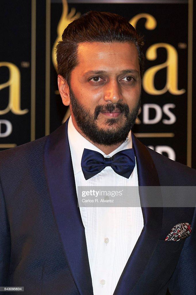 Riteish Deshmukh attends the 17th IIFA Awards (International Indian Film Academy Awards) at Ifema on June 25, 2016 in Madrid, Spain.