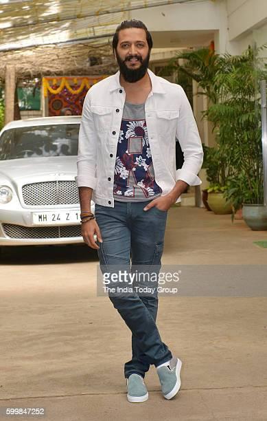 Riteish Deshmukh spotted outside Sunny Super Sound at Juhu in Mumbai