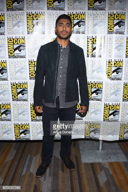 Ritesh Rajan attends the Stitchers press conference at ComicCon International 2017 on July 20 2017 in San Diego California
