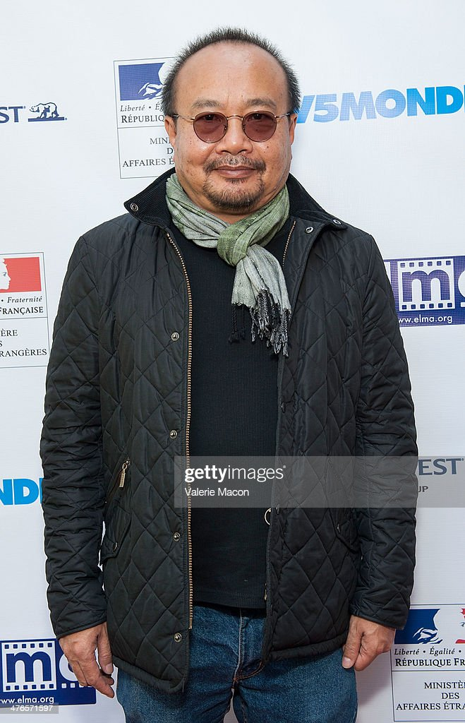 Rithy Panh attends The Consul General Of France, Mr. Axel Cruau, Honors The French Nominees For The 86th Annual Academy Awards party on March 3, 2014 in Beverly Hills, California.