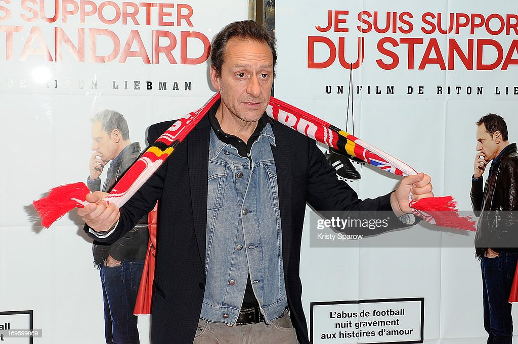 Riton Liebman attends the 'Je Suis Supporter Du Standard' Premiere at the UGC Cine Cite des Halles on May 28, 2013 in Paris, France.
