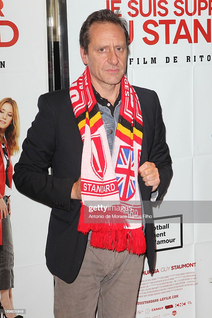 Riton Liebman attends the 'Je Suis Supporter Du Standard' Premiere at UGC Cine Cite des Halles on May 28, 2013 in Paris, France.