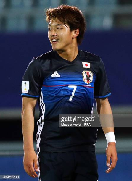 Ritsu Doan of Japan during the FIFA U20 World Cup Korea Republic 2017 group D match between Japan and Italy at Cheonan Baekseok Stadium on May 27...