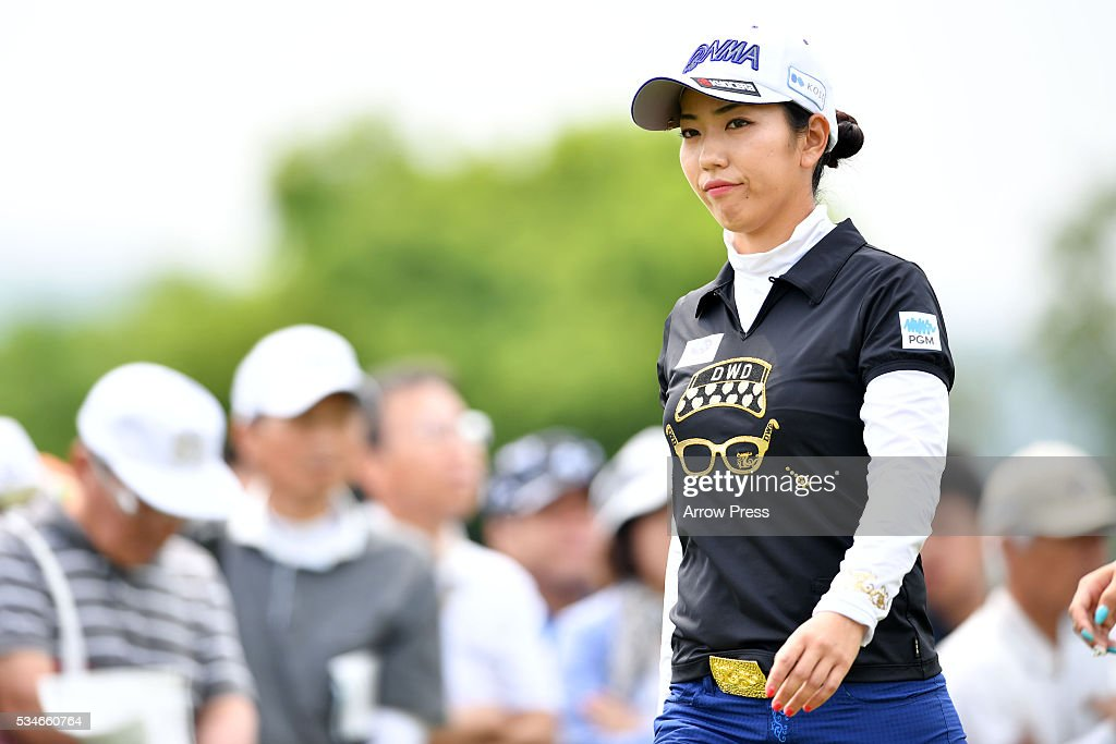<a gi-track='captionPersonalityLinkClicked' href=/galleries/search?phrase=Ritsuko+Ryu&family=editorial&specificpeople=7313575 ng-click='$event.stopPropagation()'>Ritsuko Ryu</a> of Japan looks on during the first round of the Resorttrust Ladies at the Grandee Naruto Golf Club XIV on May 27, 2016 in Naruto, Japan.