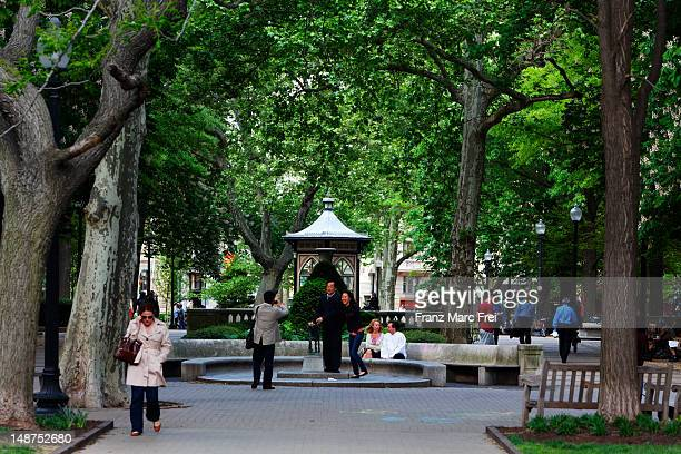 Rittenhouse Square.