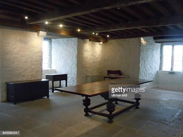 Rittersaal in der Burg aufgenommen am 23 Juli 2015 in Cahir