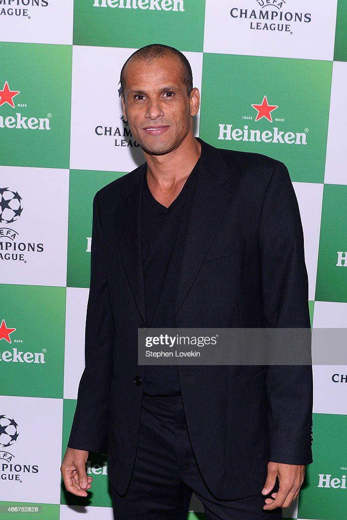 <a gi-track='captionPersonalityLinkClicked' href=/galleries/search?phrase=Rivaldo&family=editorial&specificpeople=208828 ng-click='$event.stopPropagation()'>Rivaldo</a> attends the VIP launch party for the UEFA Champions League Trophy Tour Presented by Heineken at Skylight Modern on March 18, 2015 in New York City.