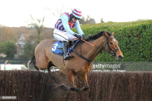 Rivaliste ridden by Ruby Walsh in the Sign Up Bonus At betinternetcom Novices' Handicap Chase during Tingle Creek Friday at Sandown Racecourse