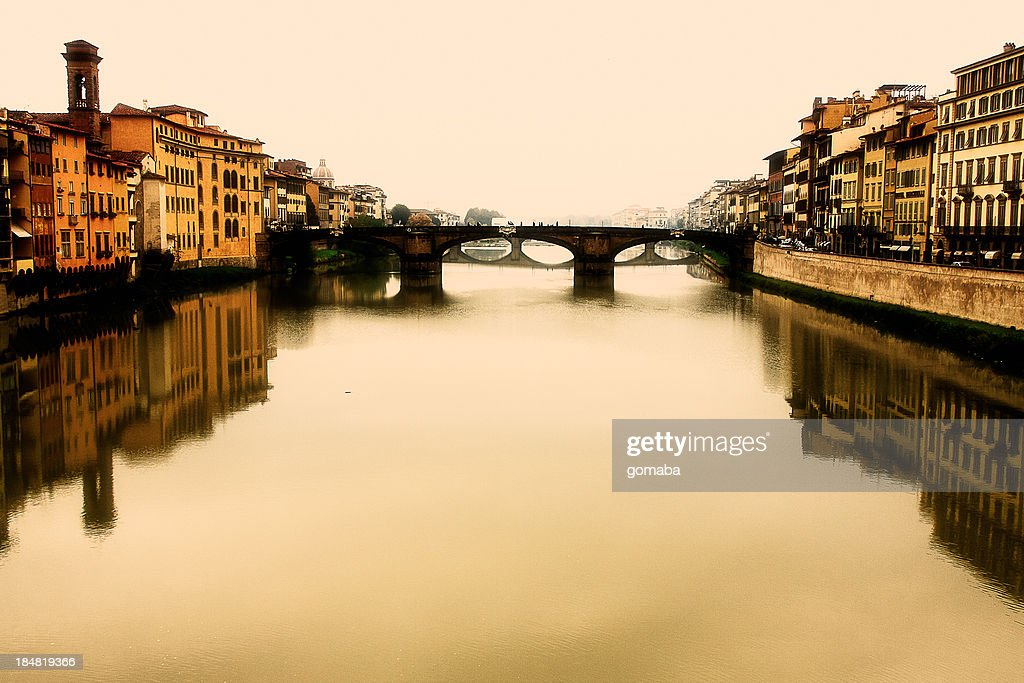 River Arno on a  Fall Afternoon