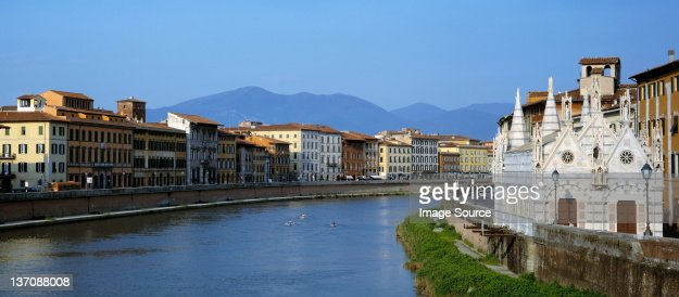 River Arno, Pisa, Tuscany, Italy