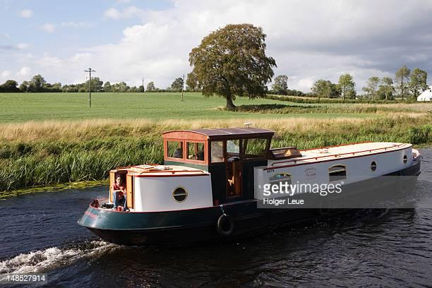 River barge.