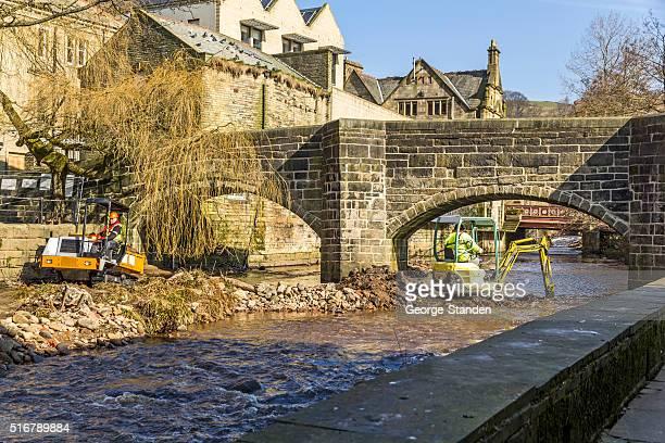 River Clearing, Hebden Bridge
