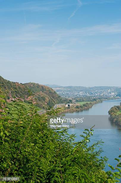 River cruise on Mosel river