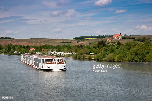 River cruise ship Viking Lif on Main rive