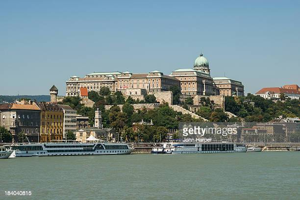 River Danube and Castle District, Budapest