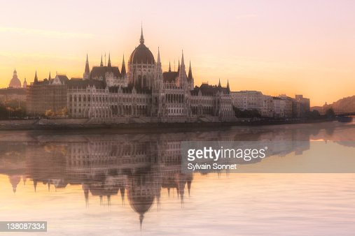 River Danube and Parliament building, Budapest