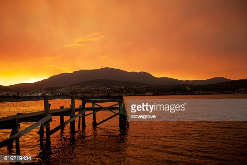 River Derwent Hobart : Stock Photo