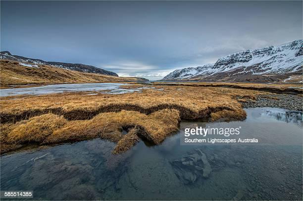 River Estuary Alftafjordir
