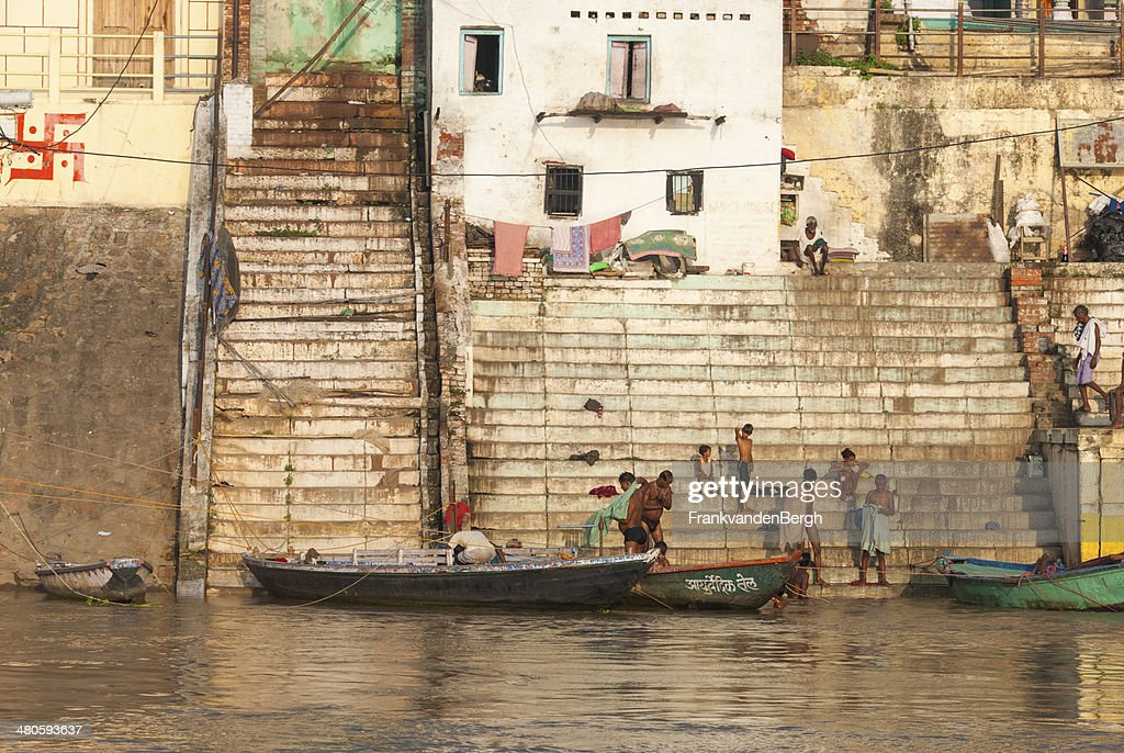 River Ganges : Stock Photo