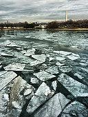 River Ice Potomac