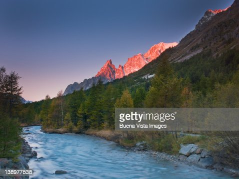 River in Alpine Valley.