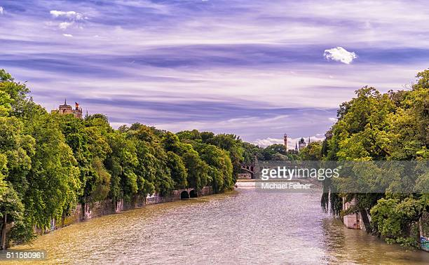 River Isar in Munich - Germany