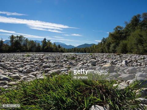 River Isar : Stock Photo