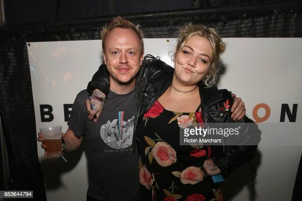 River Jones and Singer Elle King attend the Bella Union 20th Anniversary Party at TuneIn Studios @ SXSW 2017 on Wednesday March 15th 2017 in Austin TX