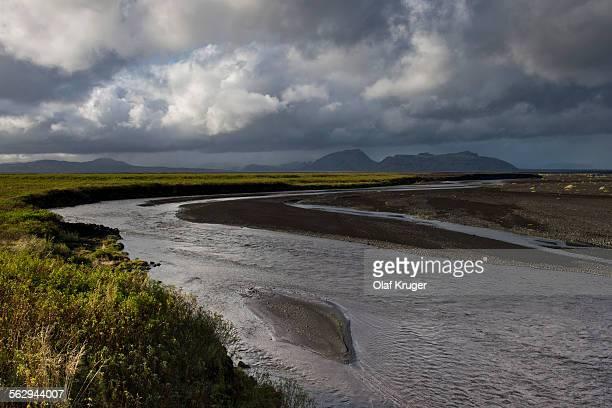 River Kuoafljot, South Coast, Iceland
