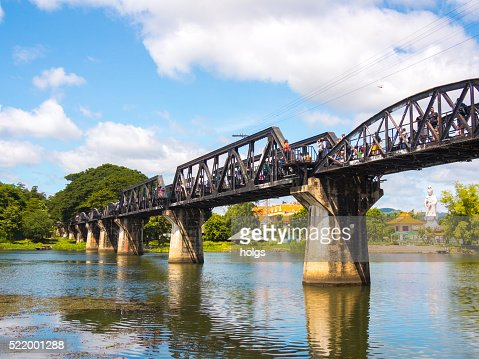 Bridge Over The River Kwai Stock Photos and Pictures  Getty Images