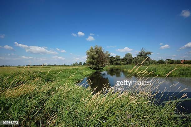 river Landschaft auf Havel (Brandenburg)