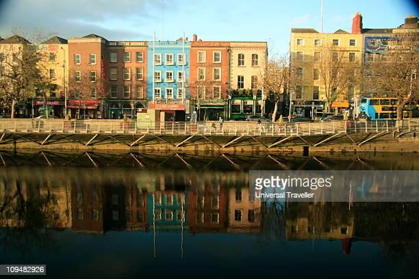 River Liffey, Bachelor's Walk, Dublin, Ireland