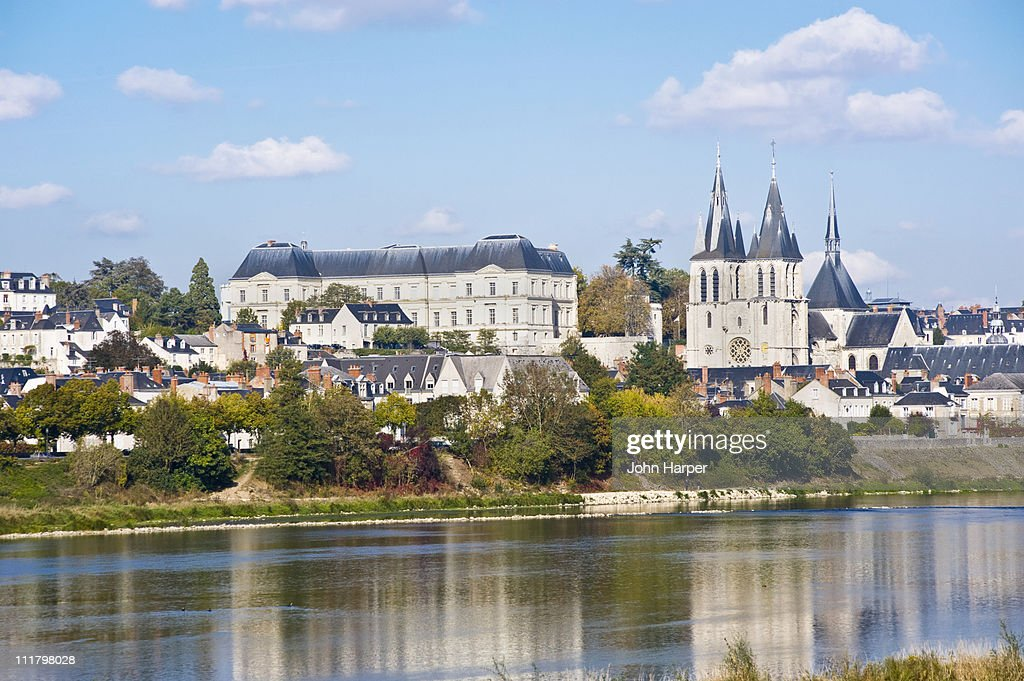 River Loire, Blois, Touraine, France