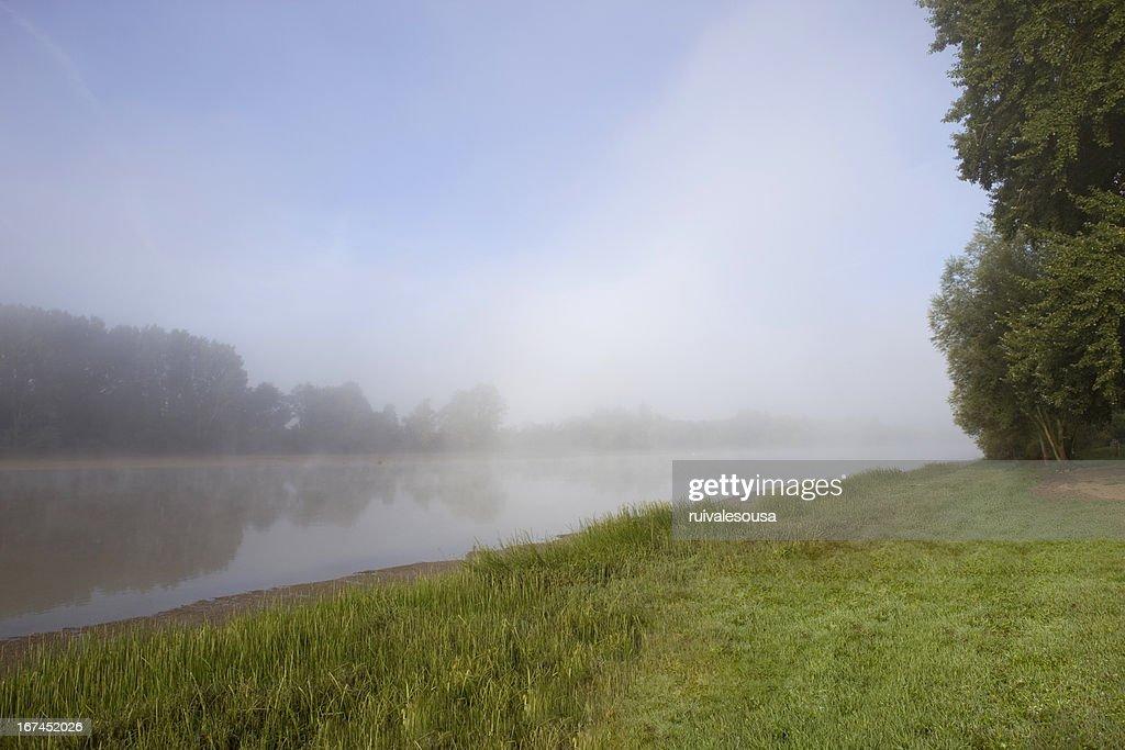 river mist : Stock Photo
