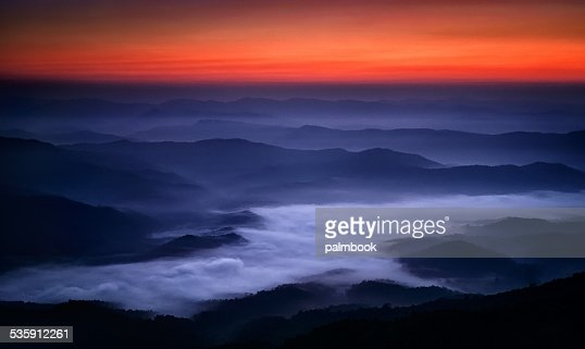 River of Cloud : Stock Photo