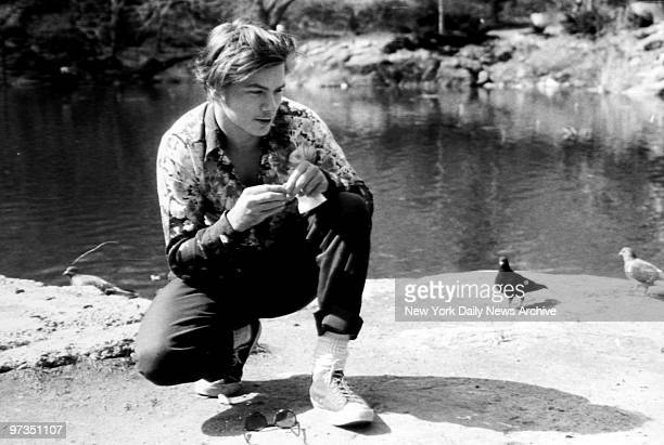 River Phoenix in Central Park