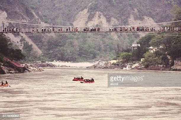 River rafting in Rishikesh city, India
