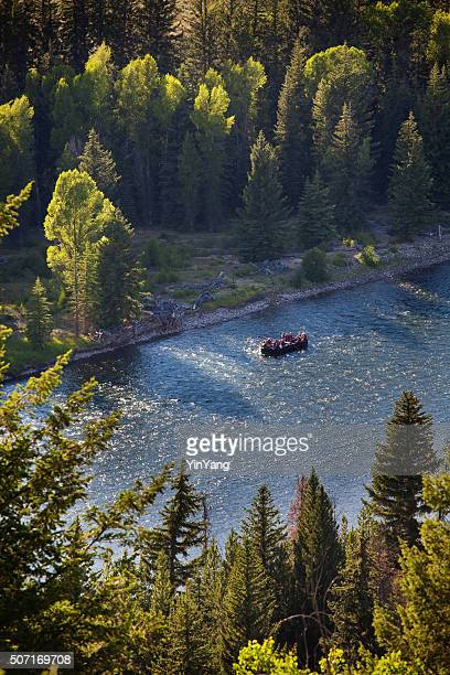River Rafting in the Snake River, Grand Teton National Park