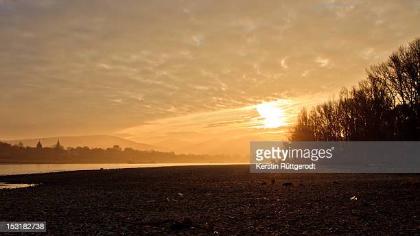 River Rhine at dawn