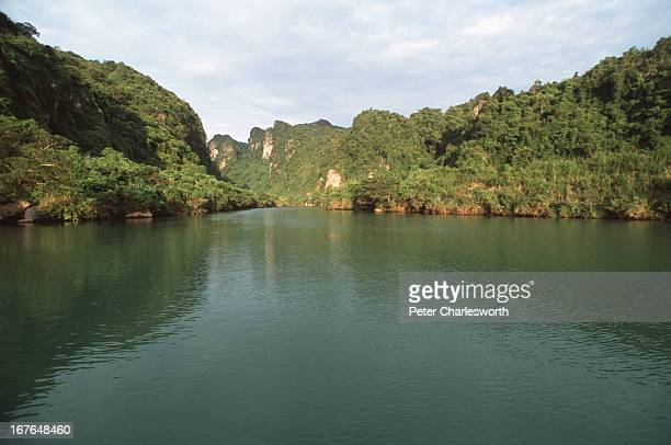 A river runs through the Phong Nha Nature Reserve The Vietnamese Government is proposing that this Nature Reserve become a World Heritage Site The...